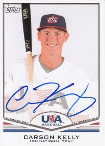 Signed Topps Card