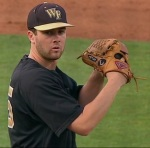 Pitching for the Deacons