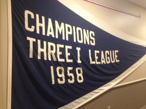 Cedar Rapids was in the Three-I League with the Peoria Chiefs before the Midwest League existed.