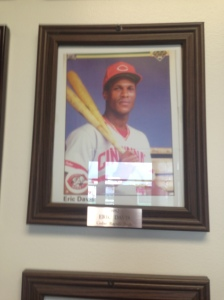 Eric Davis, one of the more well known ex Cedar Rapids players