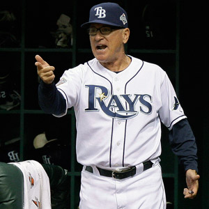 Joe Maddon - 1984 Chiefs Manager, 5th in 2013 AL MOY