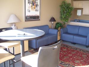 The Greg Maddux Suite at Dozer Park