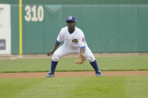Marquez Smith finished the 2007 season with the Chiefs and batted behind Josh Donaldson in Ryne Sandberg's lineup early in 2008