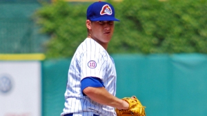 Austin Kirk threw a no-hitter for the Chiefs July 4, 2011