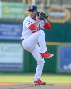 Lefty Rob Kaminsky is getting national attention after his great 2014 Chiefs season. Photo by Dennis Sievers