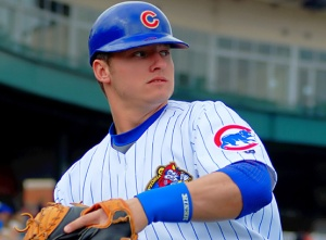 Now a MVP & Gold Glove candidate at 3B, Josh Donaldson was a catcher for the Chiefs in 2008